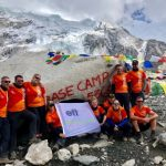 EFT sponsored team from the Electrical Industries Charity reaches Everest base camp